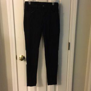 J brand 620 super skinny black jeans size 27 women
